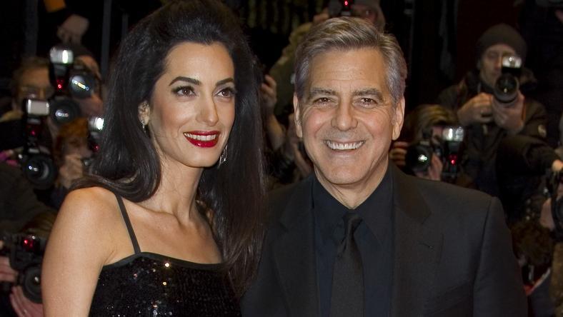 Clooneyék a német kancellárnál jártak /Fotó: Northfoto