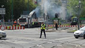Remont ulicy Dąbrowskiego sparaliżował Jeżyce