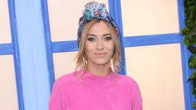 Marcelina Zawadzka w różowej bluzie. Co ma na głowie?!