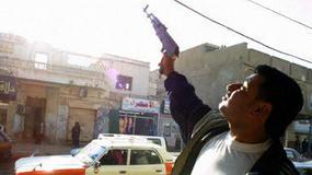 Euforia po złapaniu Saddama