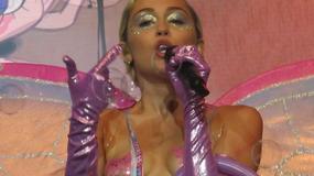 Miley Cyrus na żywo - narkotyki, szastanie pieniędzmi i aż dwie wpadki
