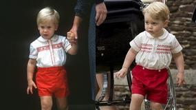 Książę George wygląda identycznie jak jego tata