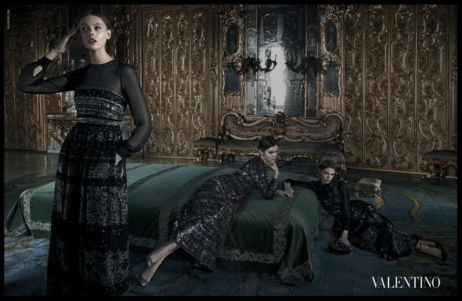 Deborah Turberville - Valentino Fall-Winter 2012/2013