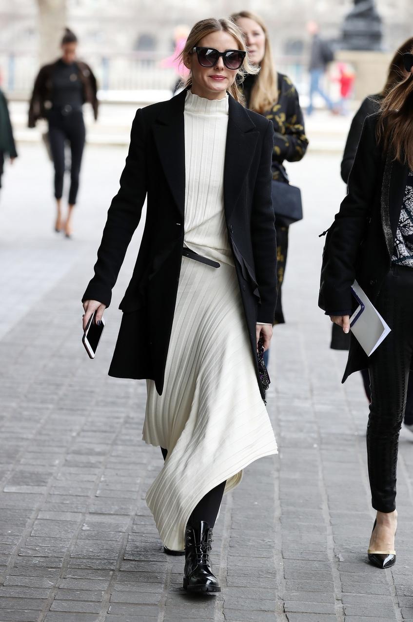 Olivia Palermo na Tygodniu Mody w Londynie
