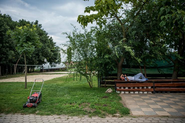 Akinek nem sikerült: Dani, aki dizájnerdrog-függősége miatt került az otthonba, néhány hét után feladta a programot / Fotó: MTI / Balogh Zoltán