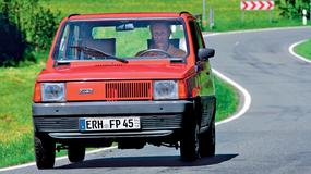 Fiat Panda - Czyli, skąpa skrzynka