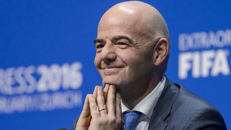 Infantino örül az új főtitkárnak /Fotó: AFP