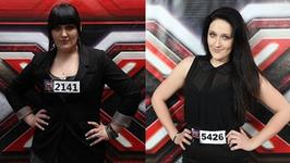 Uczestniczka &quot;X factor&quot; schuda 35 kilogramw!