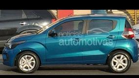 Nowy maluch z Włoch - Fiat Mobi na pierwszych zdjęciach