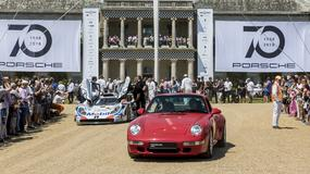 70 lat Porsche – wielka parada w Goodwood
