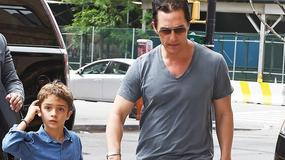 Matthew Mcconaughey z synem. Ale podobny!