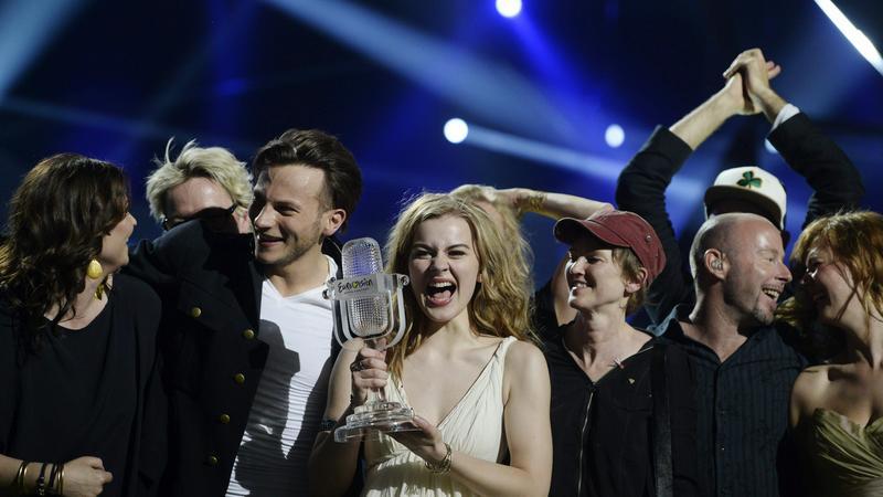 Eurowizja 2013: zwycięstwo Emmelie de Forest (fot. PAP/EPA)