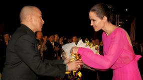 Angelina Jolie na konferencji w Kambodży. Czy naprawdę waży 34 kg?