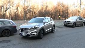 System inteligentnego parkowania - SPAS - w samochodzie Hyundai Tucson