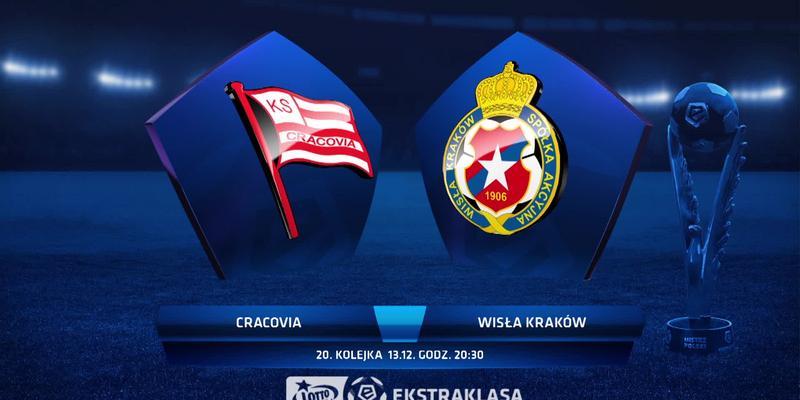 Cracovia - Wisła K. (1:4): zobacz skrót meczu