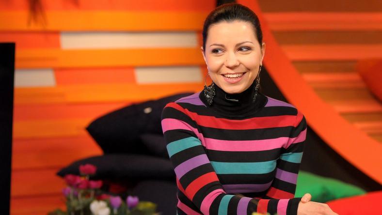 Lajtai Kati terhes /fotó: RTL Klub