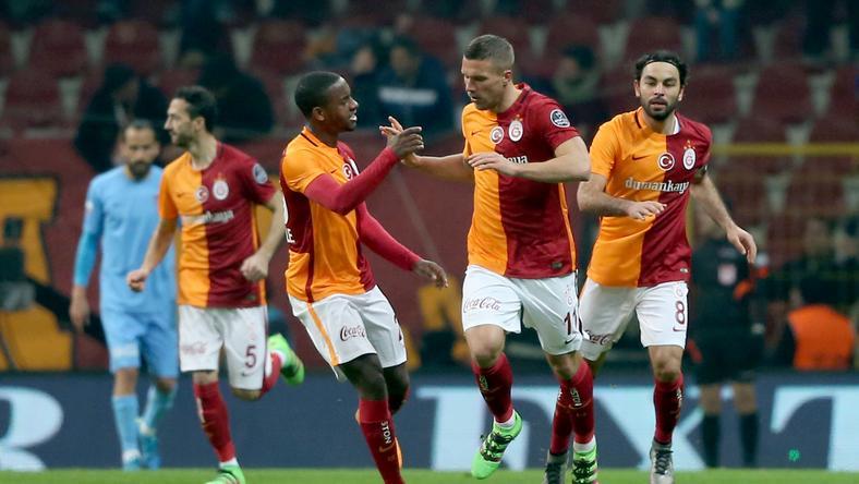 Bajban a Galatasaray / Fotó: AFP