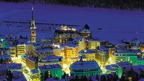 Szwajcaria - Sankt Moritz - kurort sławnych i bogatych