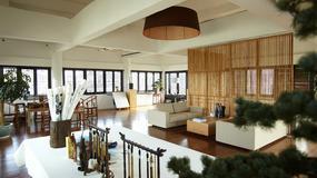 Salon urządzony w orientalnym stylu