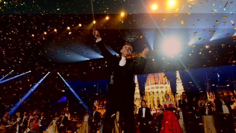 Világsztárok ünepelték az újévet Mága Zoltán hegedűművésszel /Fotó: Schumy Csaba