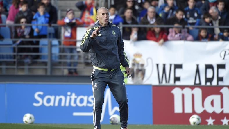 Zidane irányítja a Királyi Gárdát / Fotó: AFP