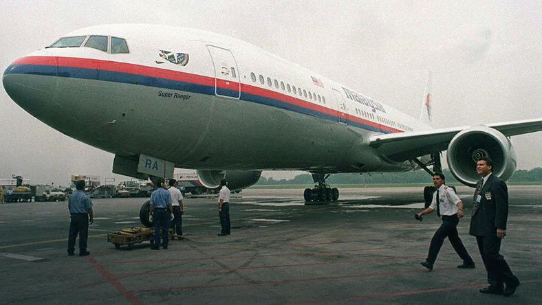 Boeing 777 należący do Malaysia Airlines