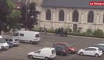 SNIMAK OKRŠAJA TERORISTA I POLICIJE Ovako su francuski specijalci ubili džihadiste iz crkve