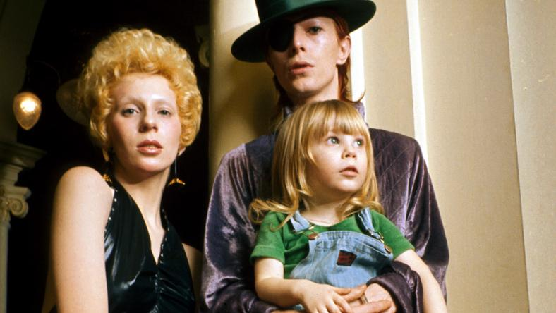 David Bowie és családja /Fotó: Northfoto