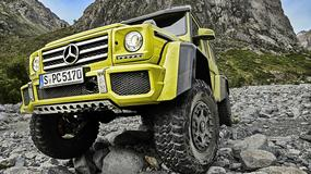 Mercedes-Benz G 500 do kwadratu