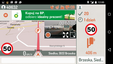 Oto co widać na ekranie telefonu w podstawowym trybie pracy Ryśka
