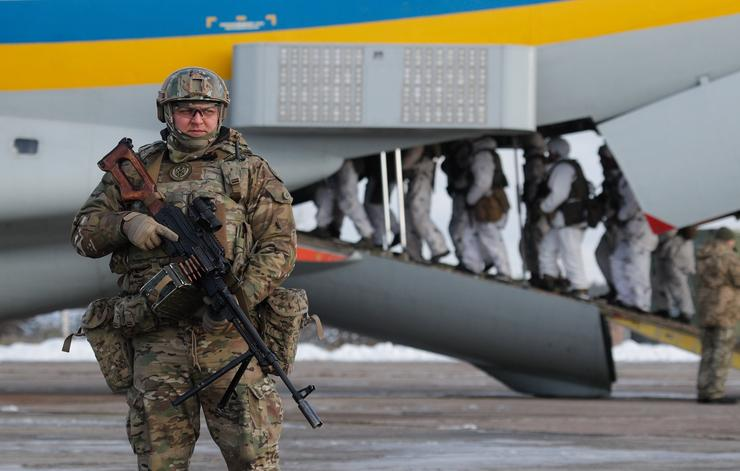 Ukrajna, a zsitomiri légibázis  / Fotó: MTI Szerhij Dolzsenko