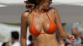 Znane kobiety na plaży