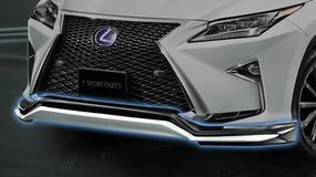 Nowy Lexus RX po fabrycznym tuningu