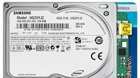 "Dysk twardy 1.8"" ze zintegrowanym kontrolerem USB"