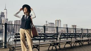 Alexa Chung jak Annie Hall
