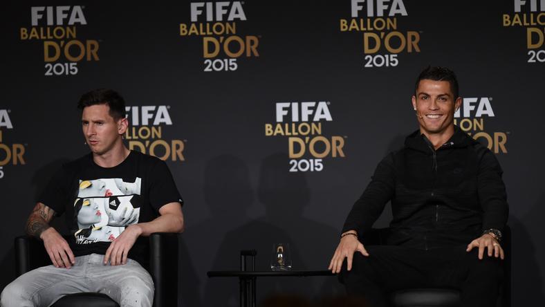Messi és Ronaldo összesen nyolc Aranylabdát nyert már /Fotó: AFP