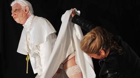 Papież jako... Marilyn Monroe!