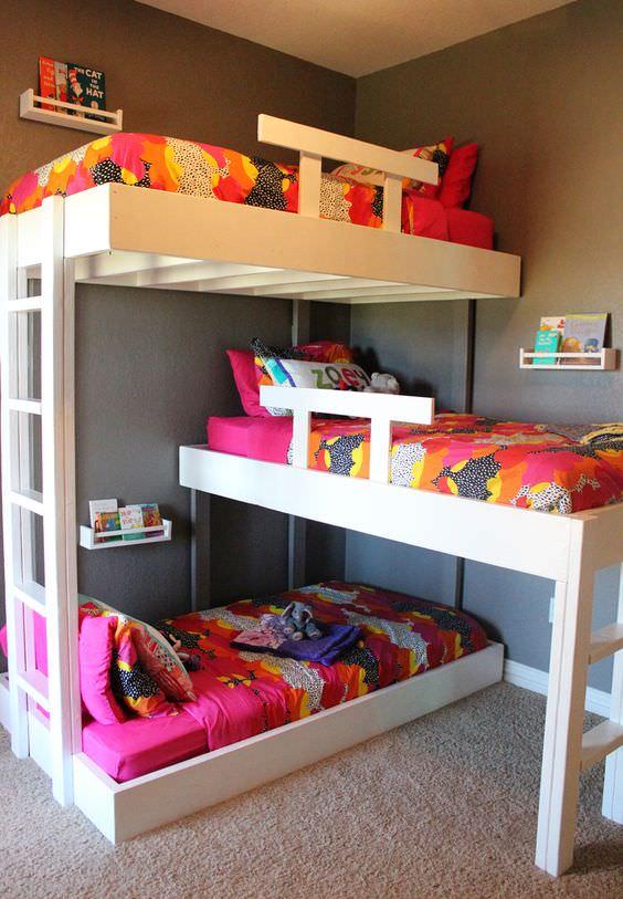 Ötletes emeletes ágyak, hogy hangulatossá tegye otthonát - Blikk.hu