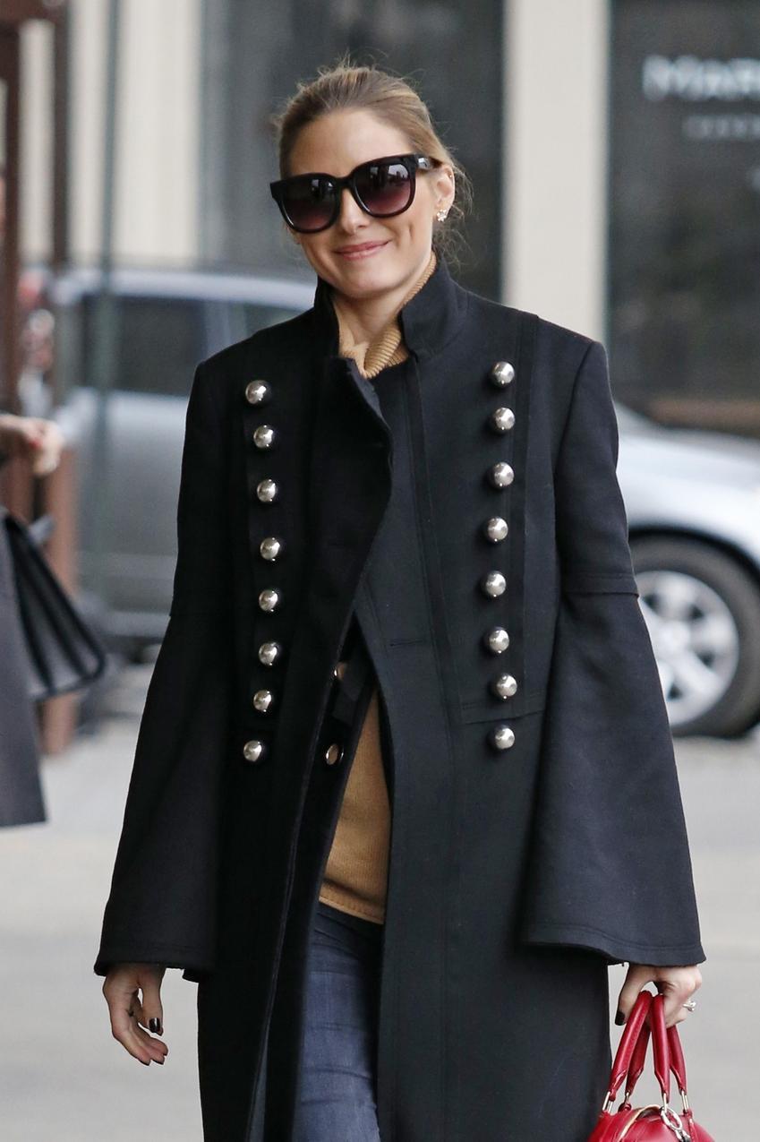 Olivia Palermo w stylowym looku