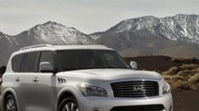 Infiniti QX56 – ośmioosobowa limuzyna terenowa