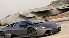 Lamborghini Reventon kontra Tornado: wyścig dla kamer telewizyjnych