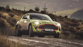 Aston Martin DBX - mamy pierwsze zdjęcia nowego SUV-a
