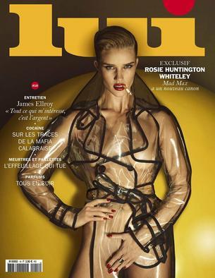 Rosie Huntigton –Whiteley i jej perfekcyjnie gładkie ciało na okładce Lui