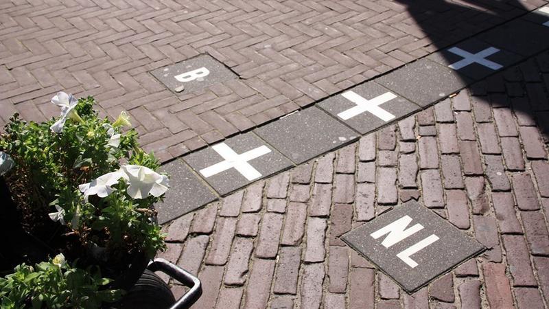 Baarle - miasto podzielone granicą Belgii i Holandii