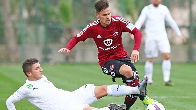 Stieber Zoltán ifiként az Újpestben játszott, most nürnbergiként szerzett gólt / Fotó: Sportfoto Zink