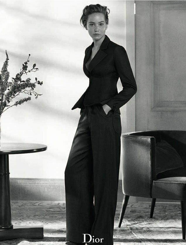 Jennifer Lawrence w kampanii Dior / materiały prasowe