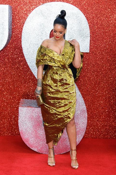 A barbadosi énekesnő egyedül érkezett a premierre/ Fotó: Northfoto