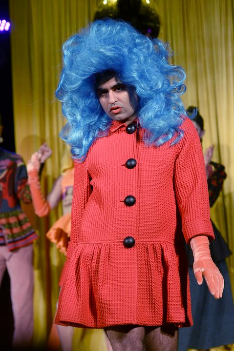 New York-i divathét - ez elvileg férfi ruha lenne... / Fotó: Getty Images