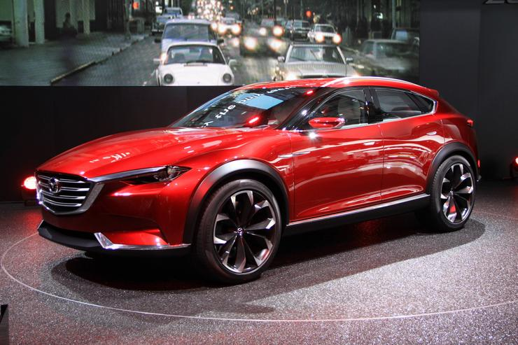 Mazda Koeru - czyżby CX4? (Frankfurt 2015) - Moto