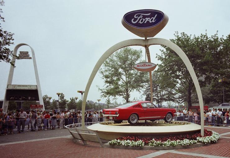 1964 az első Mustang-MTI AP Ford